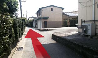 当院の左の通路