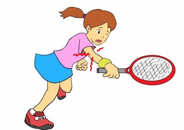 テニスで手首が痛い