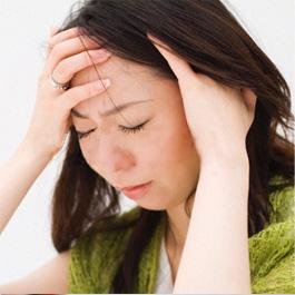 頭痛で悩んでいる人