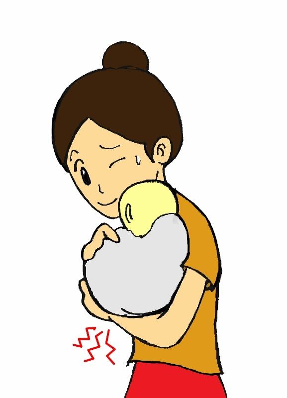 産後の腱鞘炎