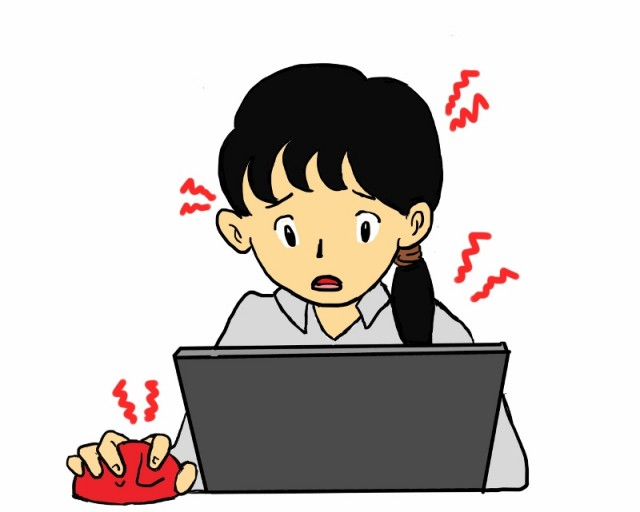パソコン作業で手首が痛い