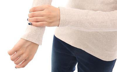 腱鞘炎の手首